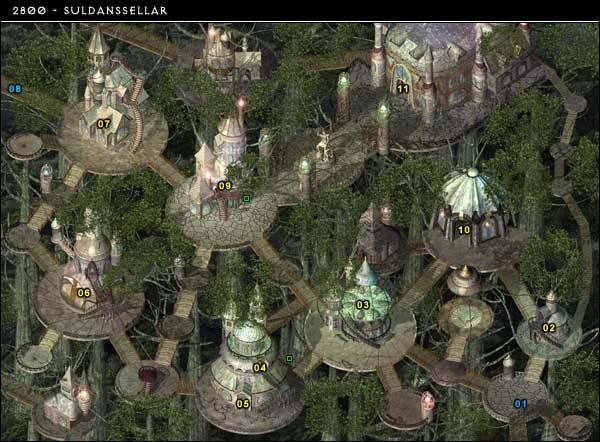 Help Me Describe A Large Elven City