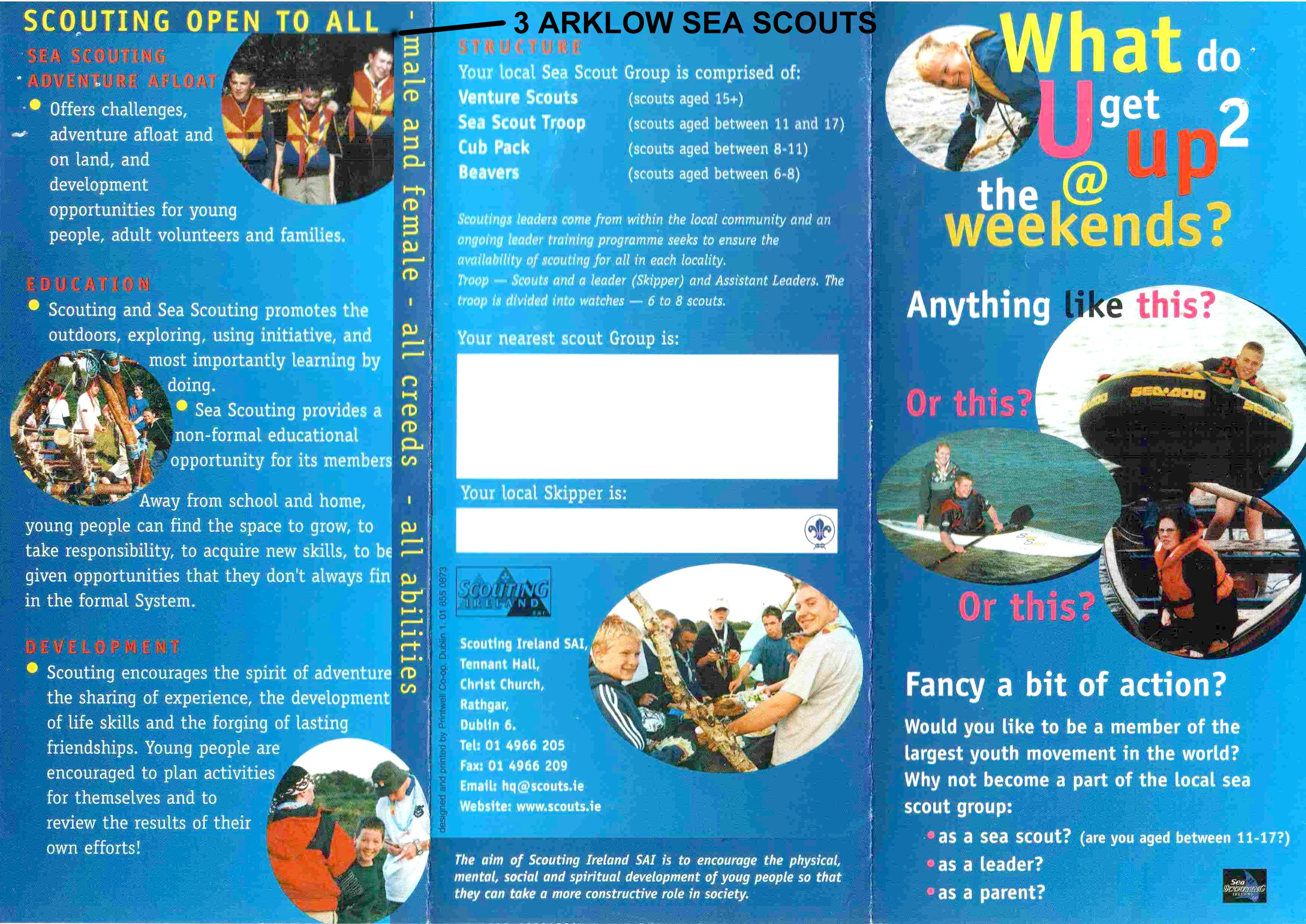 Information leaflets: key features