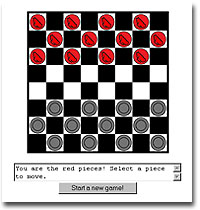 play checkers against computer