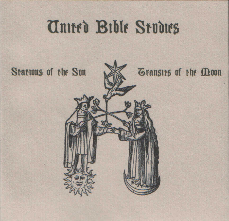 Stations of the Sun, Transits of the Moon by United Bible Studies
