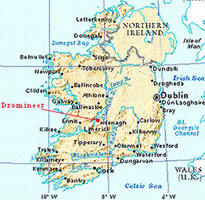 map of ireland shannon airport Map Of Ireland map of ireland shannon airport