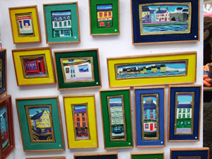 Art And Craft Stalls At Galway Market