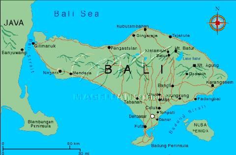 爱尔鄌卡首次将巴厘岛与爪哇岛统一,其后经过新柯沙里王朝,1343年爪哇