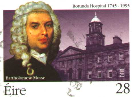 Only two Portlaoise people have ever been featured on an Irish stamp.