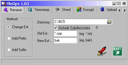 FileOps v1.02 Screenshot