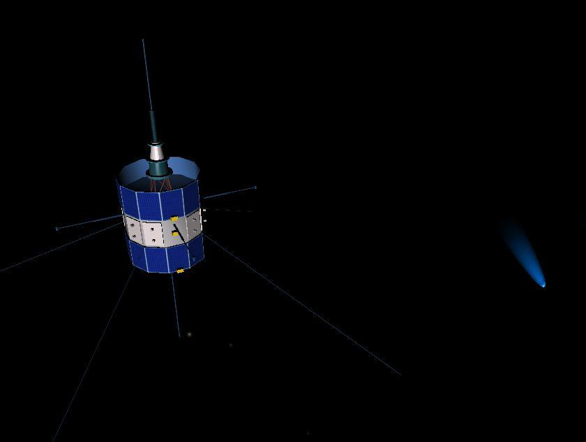 International Cometary Explorer: Ice