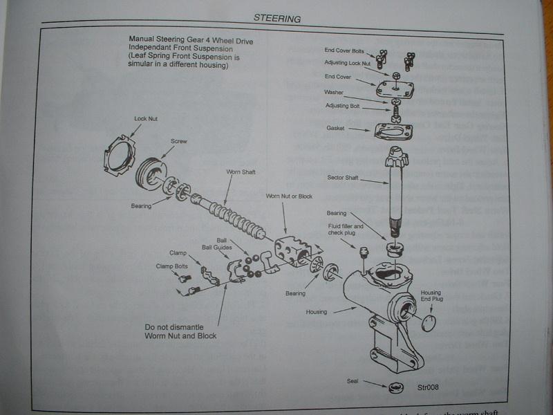 Steering Box Leak - Hilux Surf & 4Runner forum