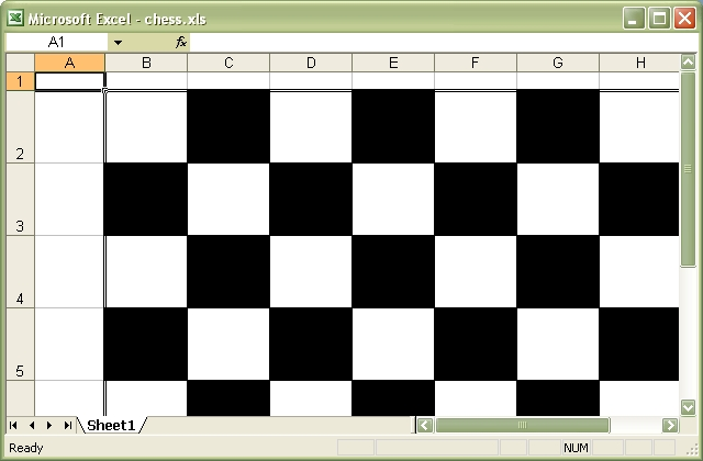 Output from chess.pl