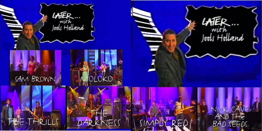 Later   With Jools Holland   S21E06 Moloko Nick Cave Simply Red (20 Jun 03) [TVRip(XVID)] preview 1