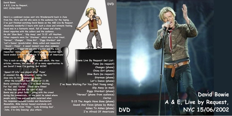 Trades for 1980 floor show dvd
