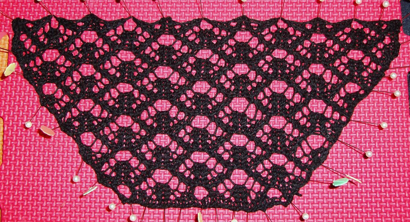 Lacy Cleavage Cover Crochet Pattern Knit