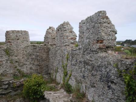 Crenellations Portrane Castle