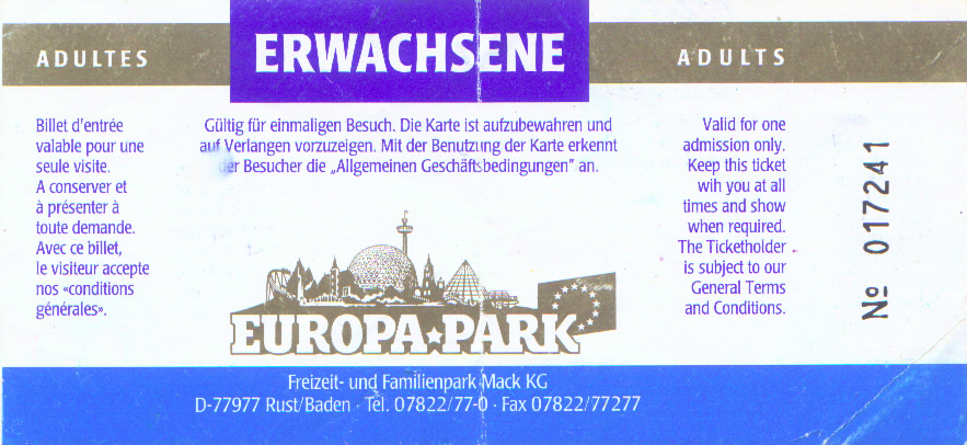 old europa park tickets. Black Bedroom Furniture Sets. Home Design Ideas