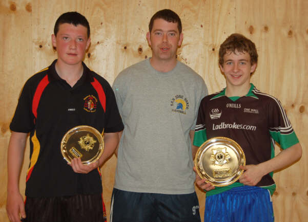 Pat Conway Shane Coneeley Declan Connaughton Sean