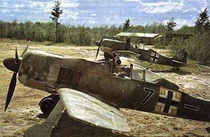 Focke Wulf Fw 190 y sus variantes Fw190