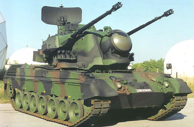 Armée Allemande (Bundeswehr) Gepard1
