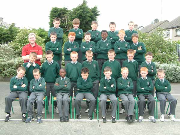 Room 15, Fourth Class, Mr. Jimmy Byrne, May 2004