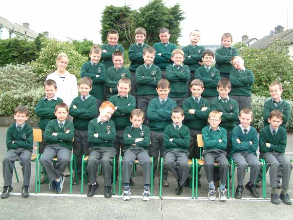 Room 19, Third Class, Ms. Eimear Conroy, May 2004
