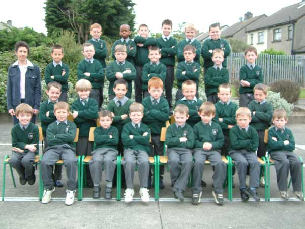 First Class, Room 3, Ms. Bláithín White, May 2004
