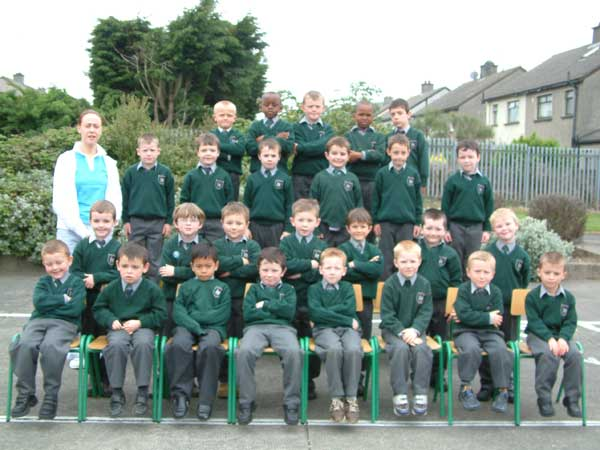 Senior Infants, Room 5, Ms. Claire Sweeney, May 2004