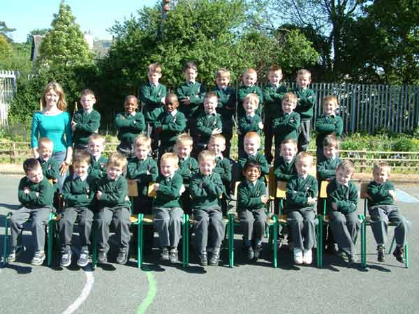 Junior Infants, Room 7, Ms. Orla Murtagh, May 2004