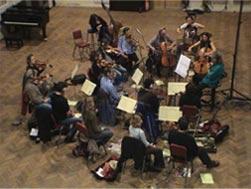 London Metropolitan Orchestra recording Kate's new album