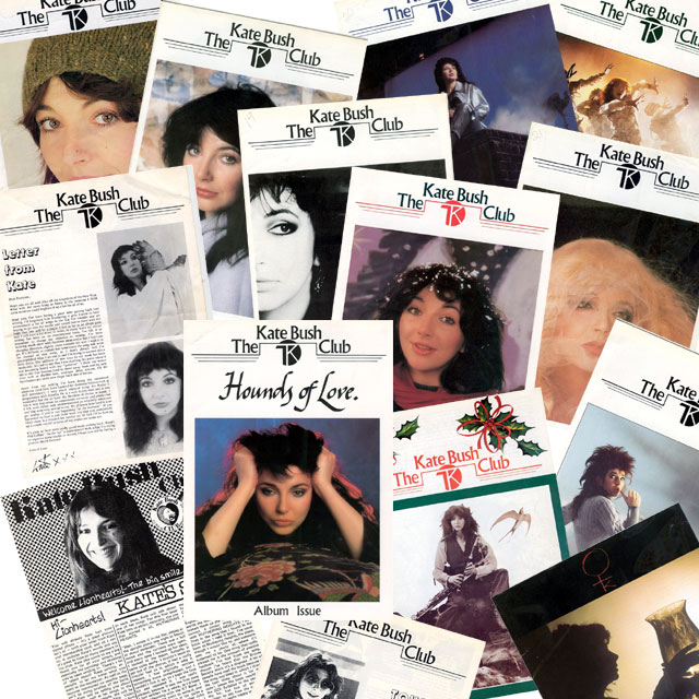Kate Bush Club magazines