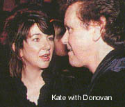 Kate chats to Donovan
