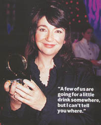 Kate with her award