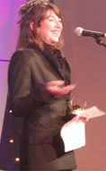Kate at Q awards