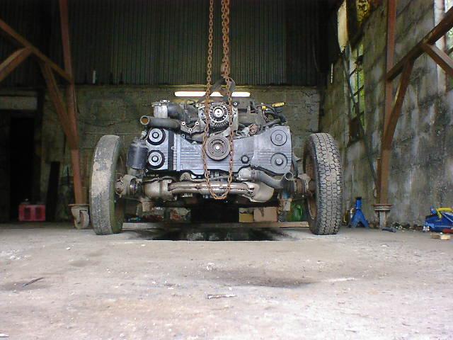 VWRX-engine-gearbox