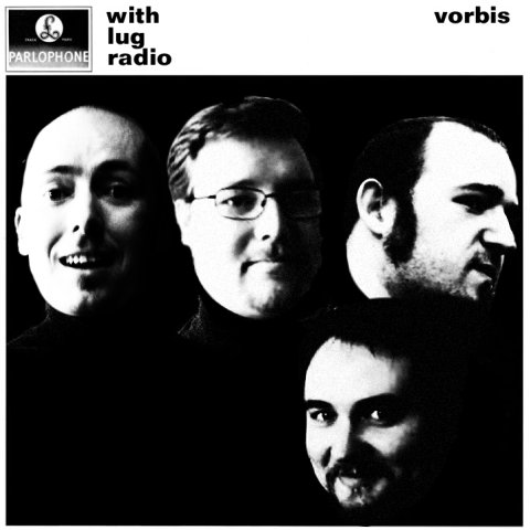 The With the Beatles cover, featuring the LugRadio team